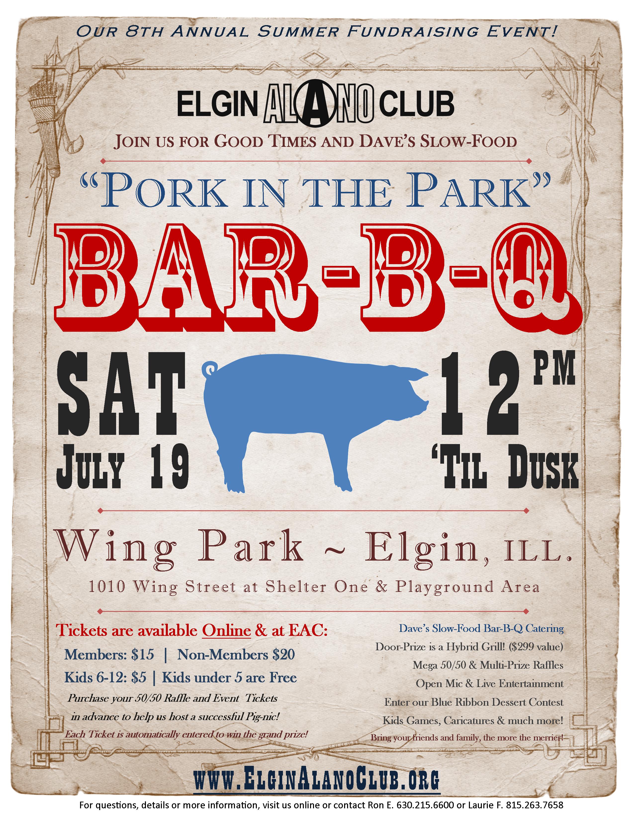 EAC: 2014 Summer Bar-B-Q Fundraiser 4