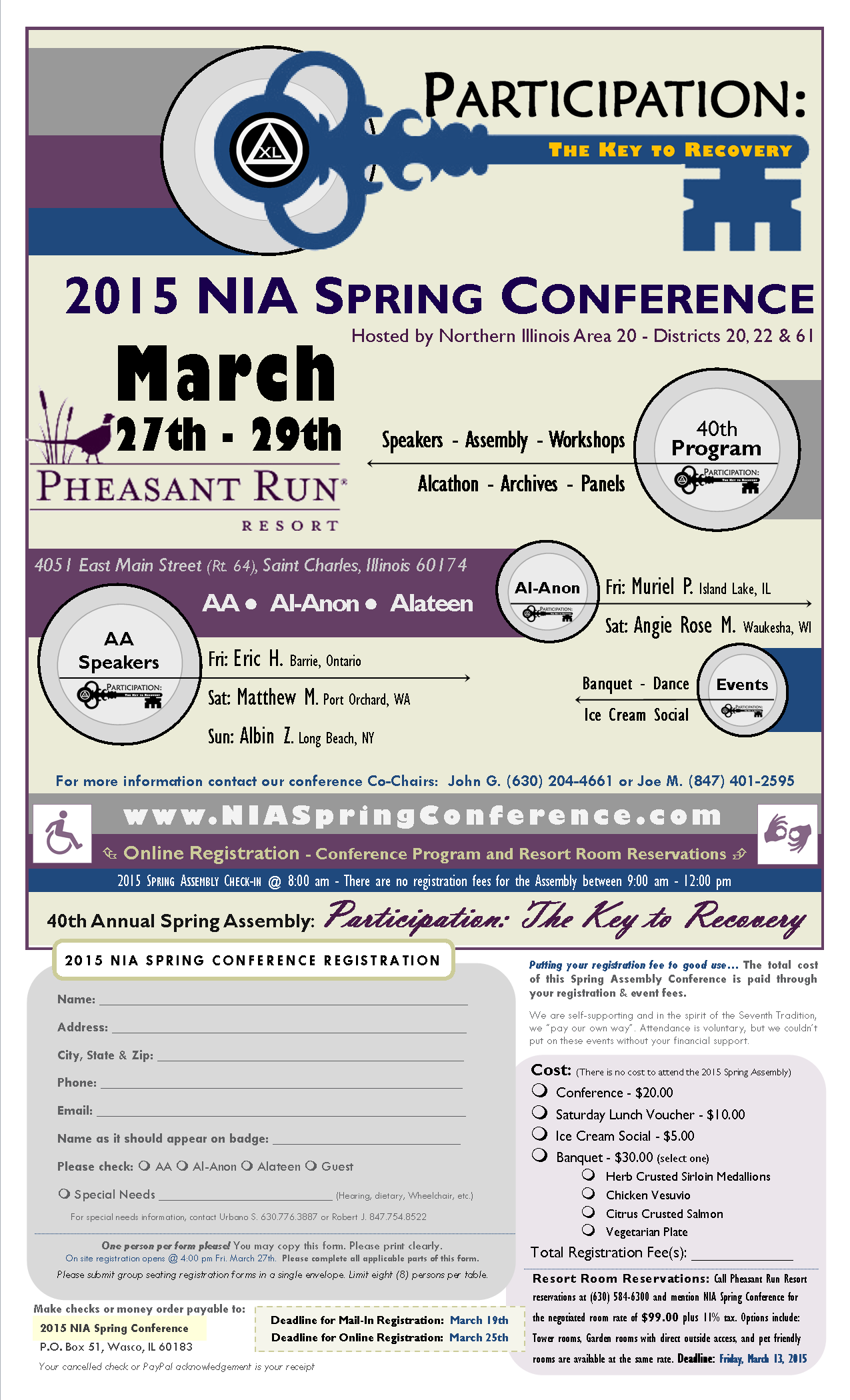 2015 NIA Spring Conference - Perception: The Key to Recovery 5