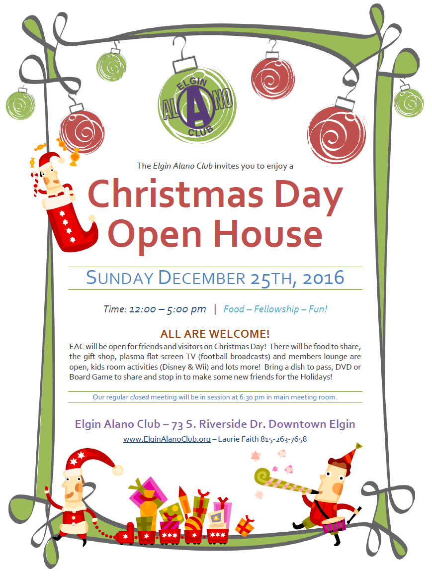 Christmas Day Open House 5