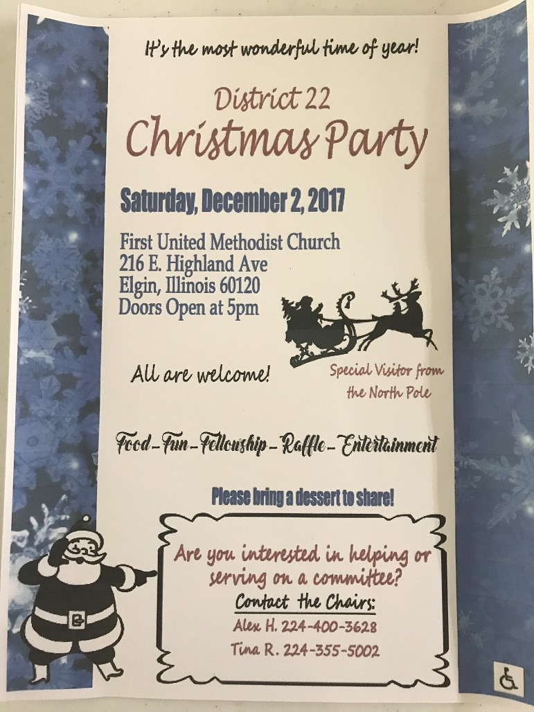 District 22 Christmas Party - 12.2.2017 4