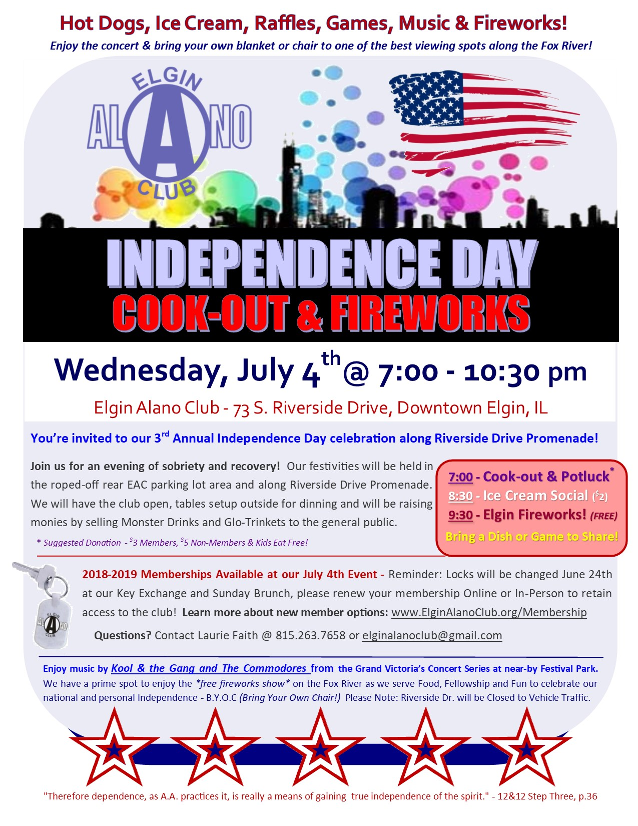 July 4th Cook-Out, Fellowship & Fireworks 7