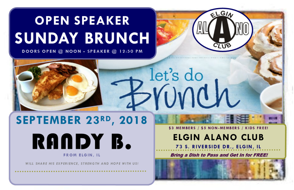 Sunday Open Speaker Brunch - Randy B. 3