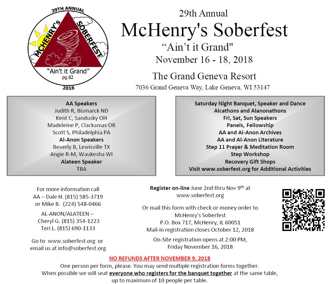 McHenry Sober Fest 2018 2