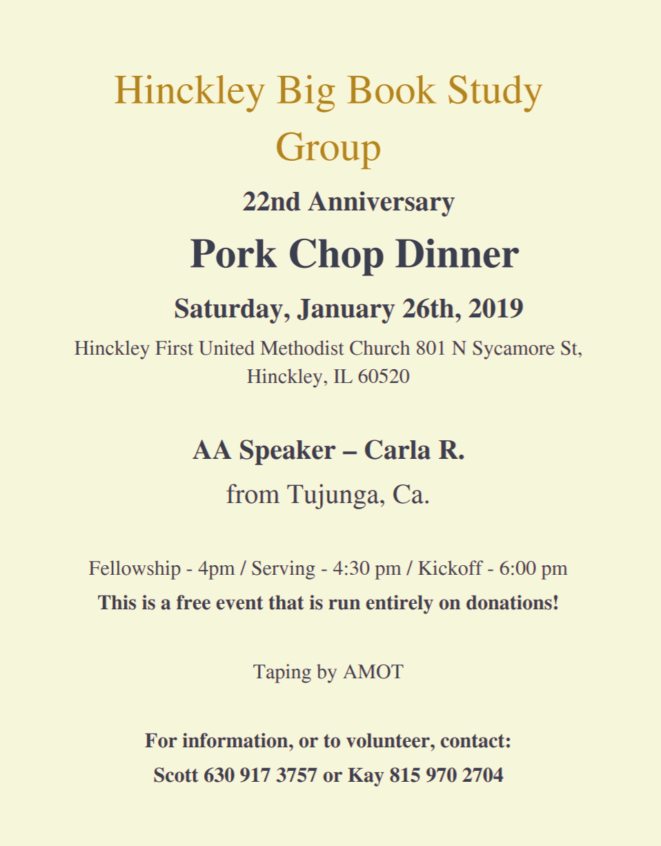 2019 Hinckley Pork Chop Dinner 4
