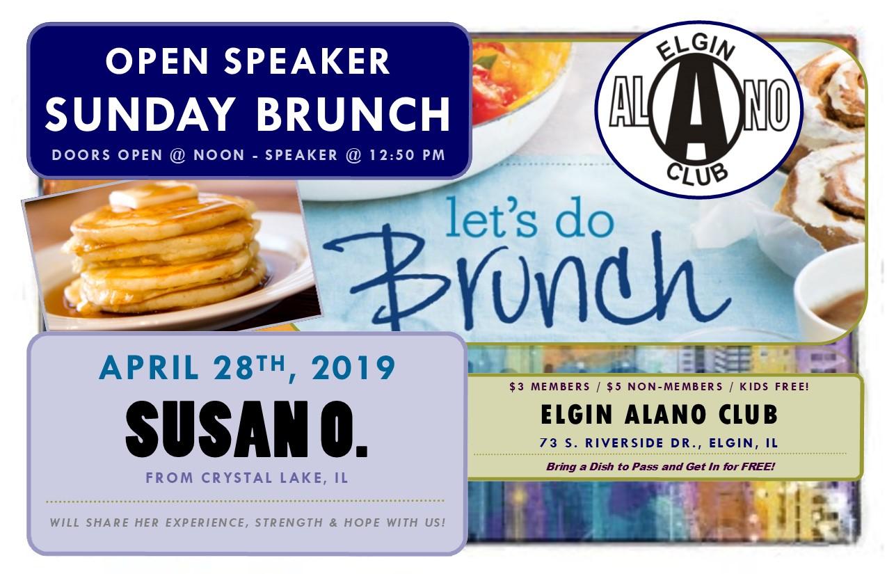 Sunday Open Speaker Brunch - Susan O. 1