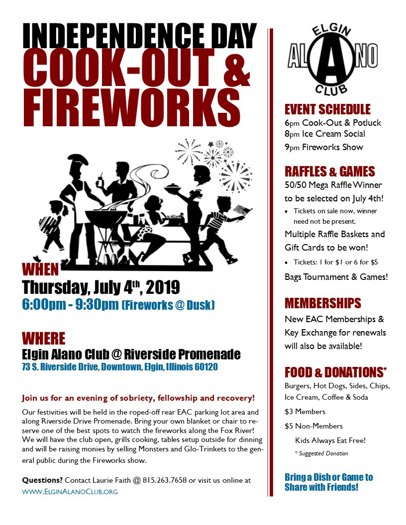 July 4th Cook-Out, Fellowship & Fireworks 2