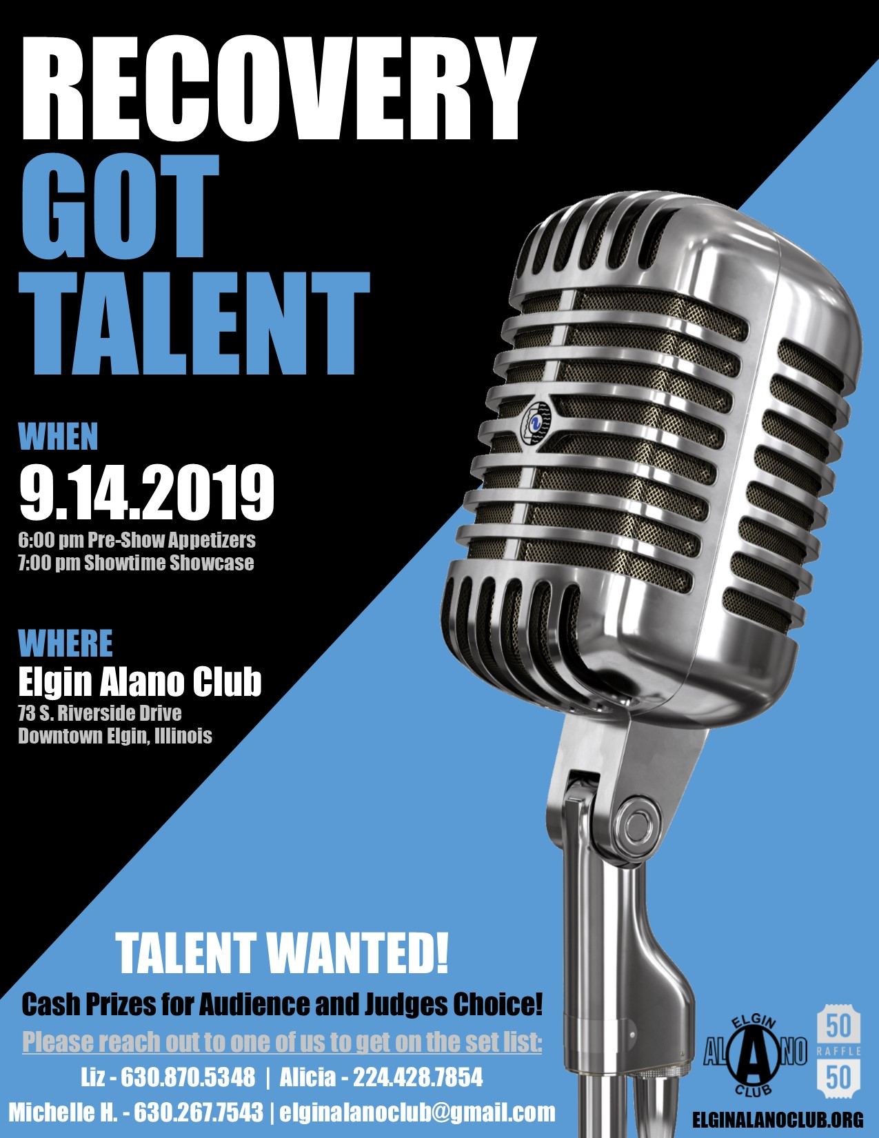Recovery Got Talent! 1