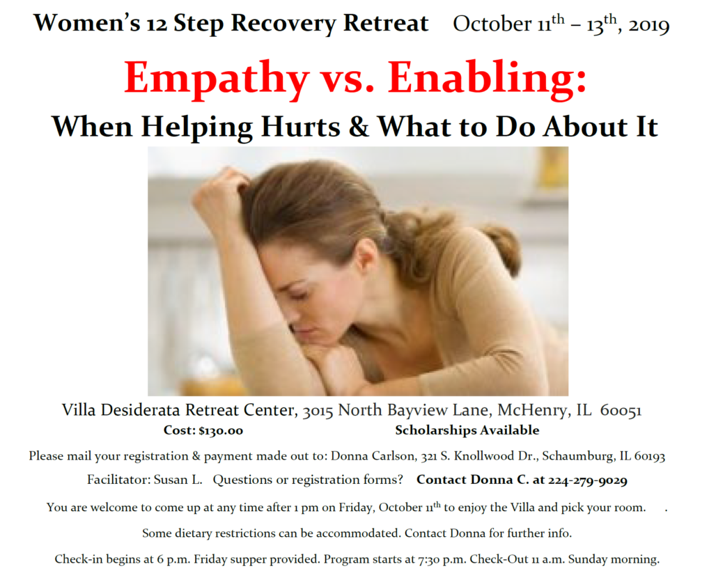 Women's 12-step Recovery Retreat