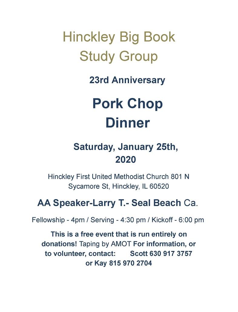 2020 Hinckley Pork Chop Dinner 4