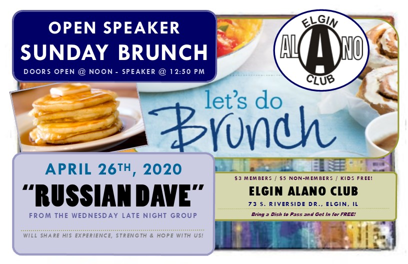 Sunday Open Speaker Brunch - Russian Dave 7