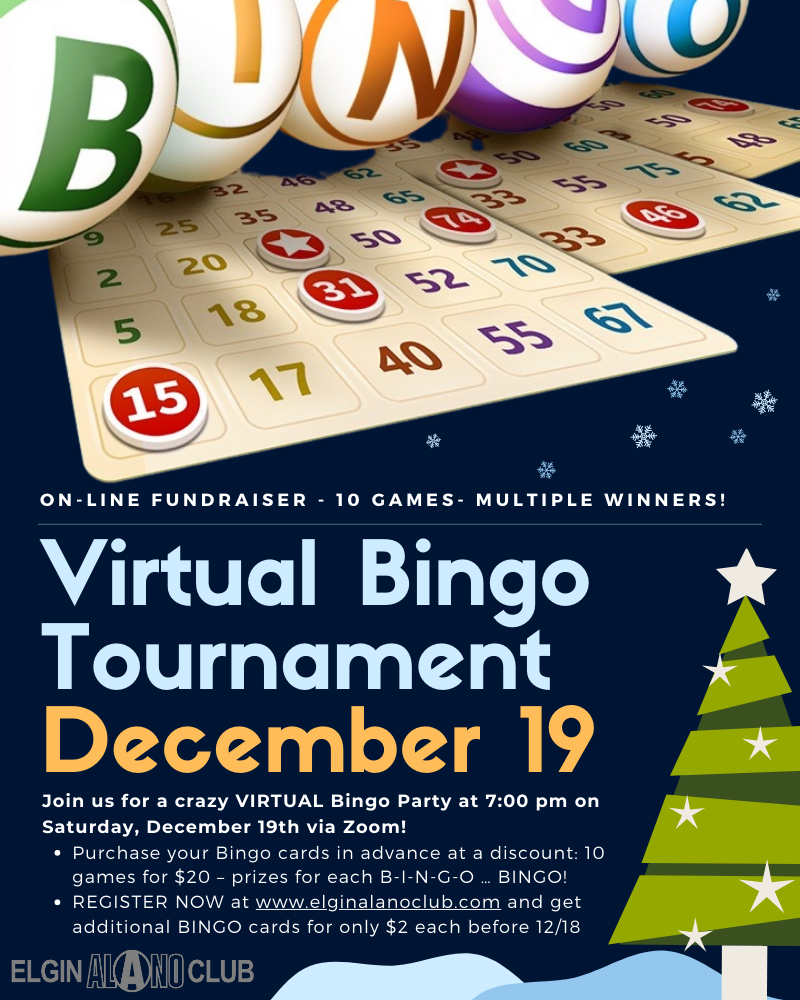 Virtual Bingo Flyer
